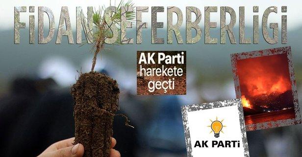 AK Parti'den fidan dikme seferberliği
