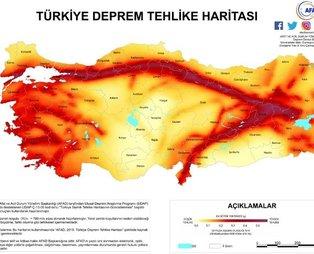 İşte Türkiye'nin deprem haritası! İzmir depremi sonrası merak ediliyor... Deprem riski en az ve en çok olan iller ve bölgeler