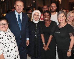Della Miles'dan Başkan Erdoğan'a övgü dolu sözler