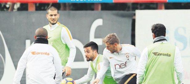 Galatasaray Akhisar'a sıkı hazırlanıyor