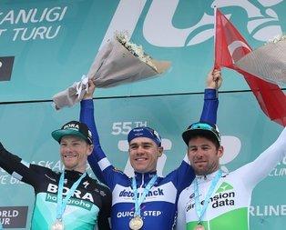 Bisiklet Turunda Çanakkale Etabını kim kazanmıştır?