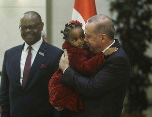 Başkan Erdoğan güven mektubu sunan büyükelçileri kabul etti