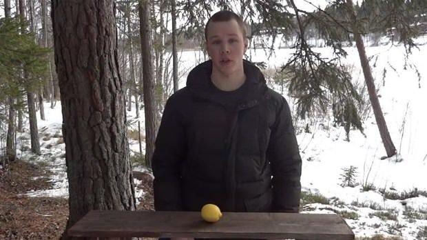 Limonla sıra dışı deney!