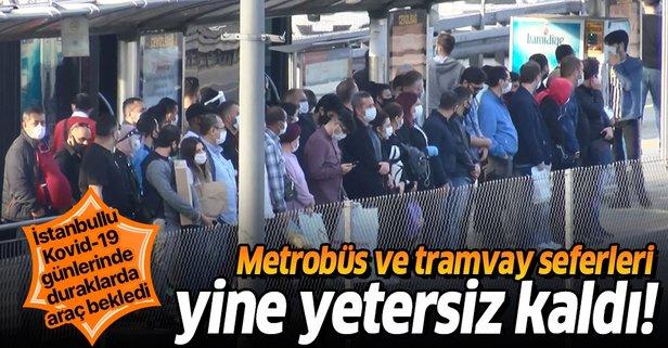 Metrobüs ve tramvay seferleri yetersiz kaldı!