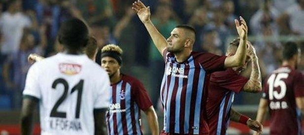 Trabzon lige fırtına gibi başladı