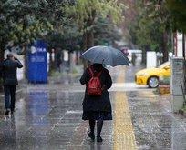 Meteorolojiden o iller için kuvvetli yağış uyarısı