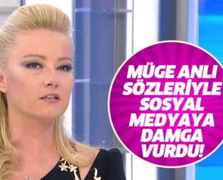 Müge Anlı'dan canlı yayında çok konuşulan tepki: Kaybolduysa da iyi olmuş... Müge Anlı sosyal medyaya damga vurdu