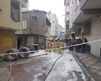 İstanbulda korkutan doğalgaz patlaması!