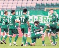Bursa 3 puanı 3 golle aldı