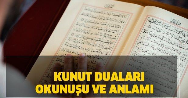 Kunut duaları Arapça okunuşu ve Türkçe meali! Vitir namazı nedir, nasıl kılınır?
