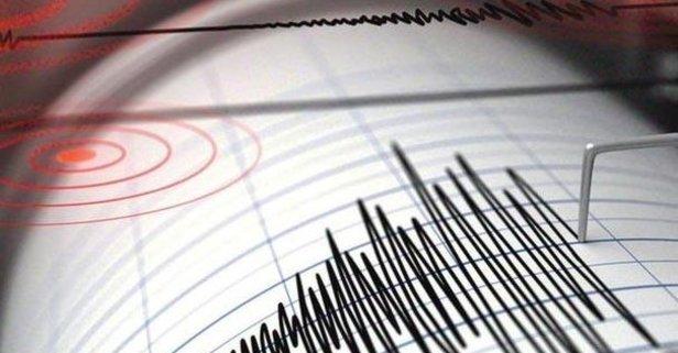 Kahramanmaraşta korkutan deprem!