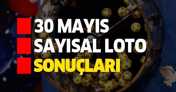 30 Mayıs Sayısal Loto çekiliş sonuçları belirlendi!