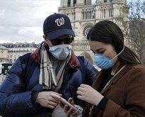 Fransa'da son 24 saatte 21 bin 634 yeni vaka