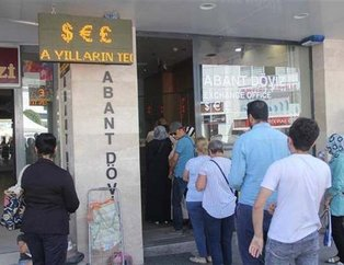 Türkiye'de halk döviz bürolarında soluğu alıyor