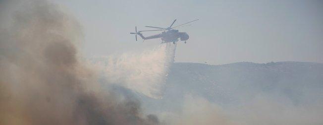 Yunanistan'da yangın felaketi