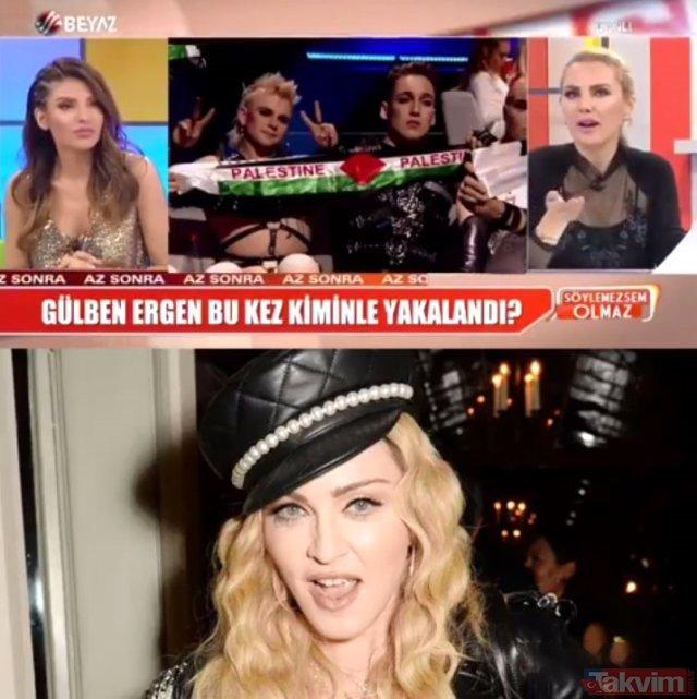 Ece Erken'den büyük gaf! Eurovision sahnesindeki Madonna'yı yarışmacı sanınca...