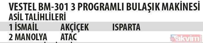2018 Schwarzkopf Migros 2 çekiliş sonuçları (12.09.2018)