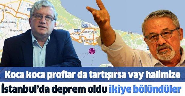 Büyük İstanbul depremi profesörleri ikiye böldü
