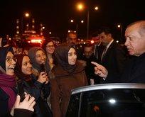 Başkan Erdoğan o öğrencilerle yakından ilgilendi