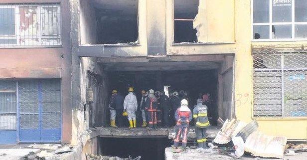 Yangın faciası: 5 ölü