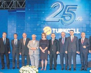 Türkcell 25 yaşında