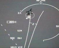 Yunan uçakları Türk pilotlarının kilidinden kaçamadı