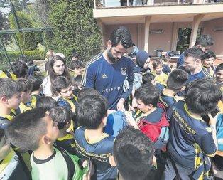 Fenerbahçe'de neşeli günler