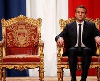 Macron'u yerden yere vurdu