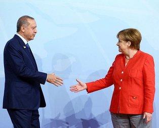Merkelden Türkiye ekonomisiyle ilgili açıklama!
