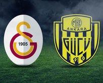 Galatasaray - Ankaragücü maçı ne zaman?