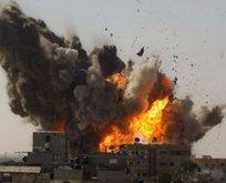 İsrailden Gazzeye alçak saldırı