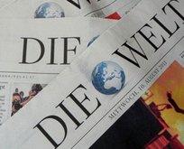 Alman Die Welt yine FETÖ'nün sözcülüğüne soyundu!