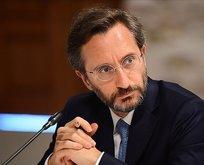 İletişim Başkanı Fahrettin Altun'dan Rumlara tepki