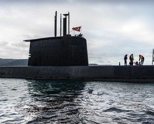 Türk donanmasının gururu böyle görüntülendi