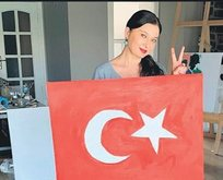 Ev yapımı bayrak
