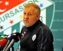 Bursaspor'da Mesut Bakkal takımına güveniyor