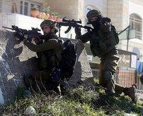 İşgalci İsrail güçleri yine Filistin'de kan döktü!