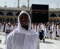 Dünyaca ünlü yıldız futbolcu Kabe'den böyle paylaştı!
