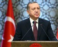 Başkan Erdoğan'dan yıldönümü mesajı