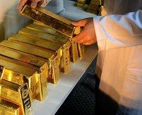ABDde saklanan tonlarca altın Türkiyeye getirildi