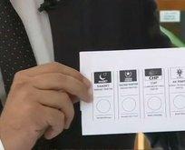 İşte İstanbul seçimlerinde kullanılacak oy pusulası