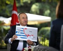 Yunanistan'dan ısmarlama harita!