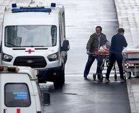 Rusya'da Kovid-19 hastanesinde yangın!