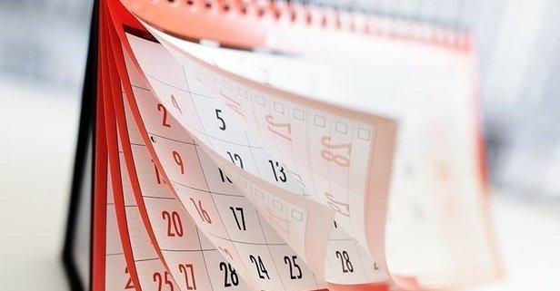 2022 resmi tatil günleri takvimi belli oldu!