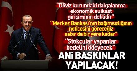 Başkan Erdoğan AK Parti İl Başkanları Toplantısı'nda konuştu