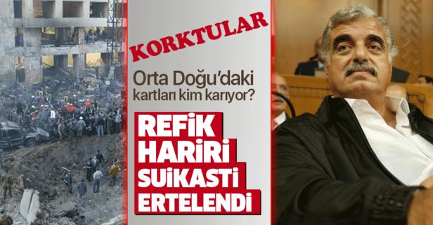 Refik Hariri davasında karar ertelendi