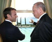 Fransa Cumhurbaşkanı Macrondan 4lü zirve tweeti