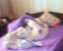 Yatak odasında dehşet!