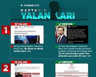 CHP ve HDP yandaşı medyanın bu haftaki yalanları!