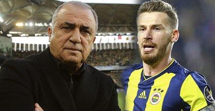 Fenerbahçe-Galatasaray derbisinde gözler onlardaydı! Fatih Terim ve Serdar Aziz...